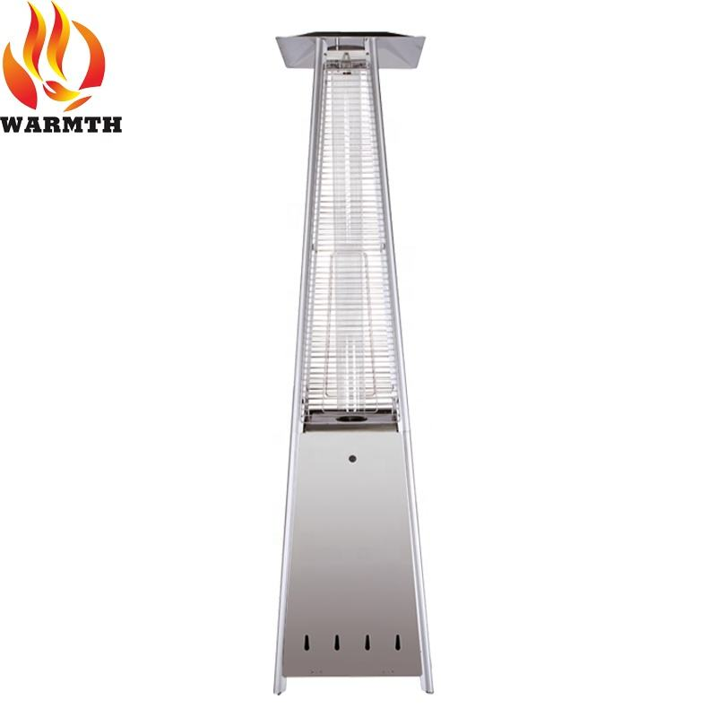 China fabriek outdoor piramide quartz glazen buis infrarood gas terrasverwarming met CE certificering