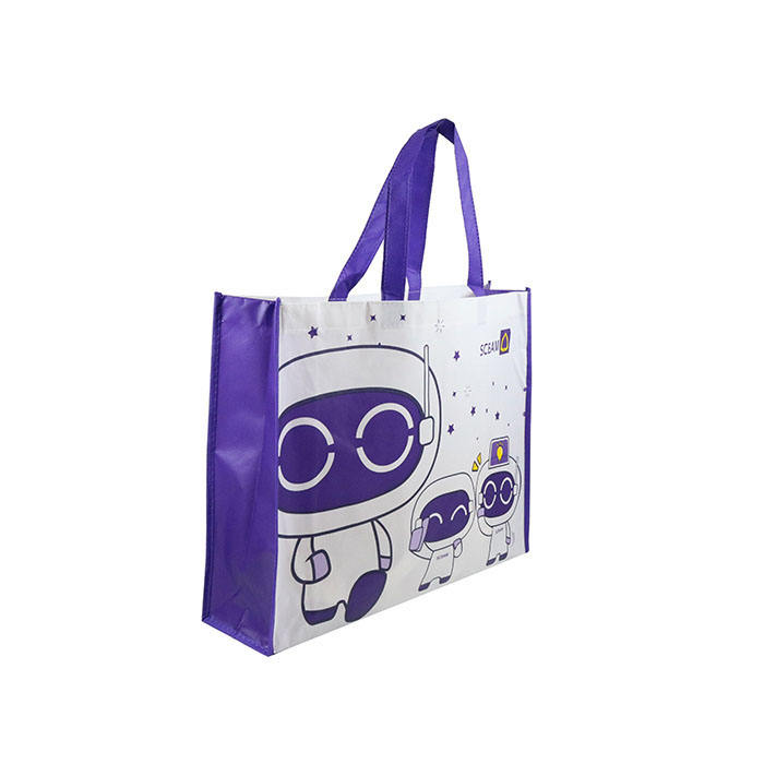 Custom printed Shopping bags trade show non-woven recyclable tote bag
