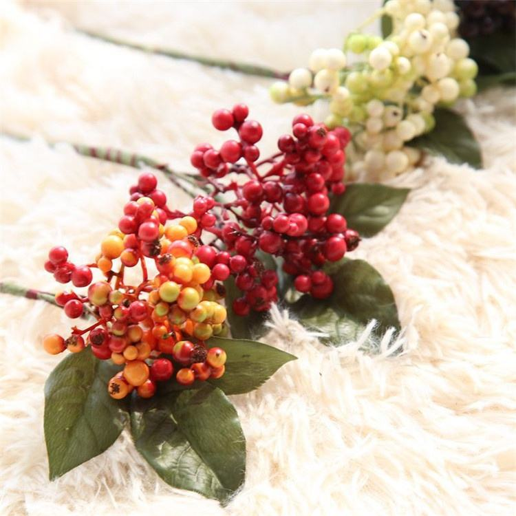 V-3091 lovely Christmas Decoration Fruitlet Artificial Berries