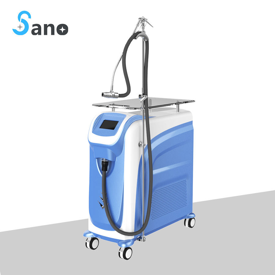 Comfort therapy zimmer cryo cooling machine cold air skin cooling machine for laser treatment