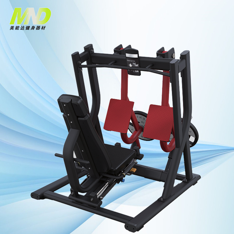 Weight plate loaded machine hammer strength gym machine mnd fitness gym equipment for sale MND PL 22 Iso-Lateral Leg Press