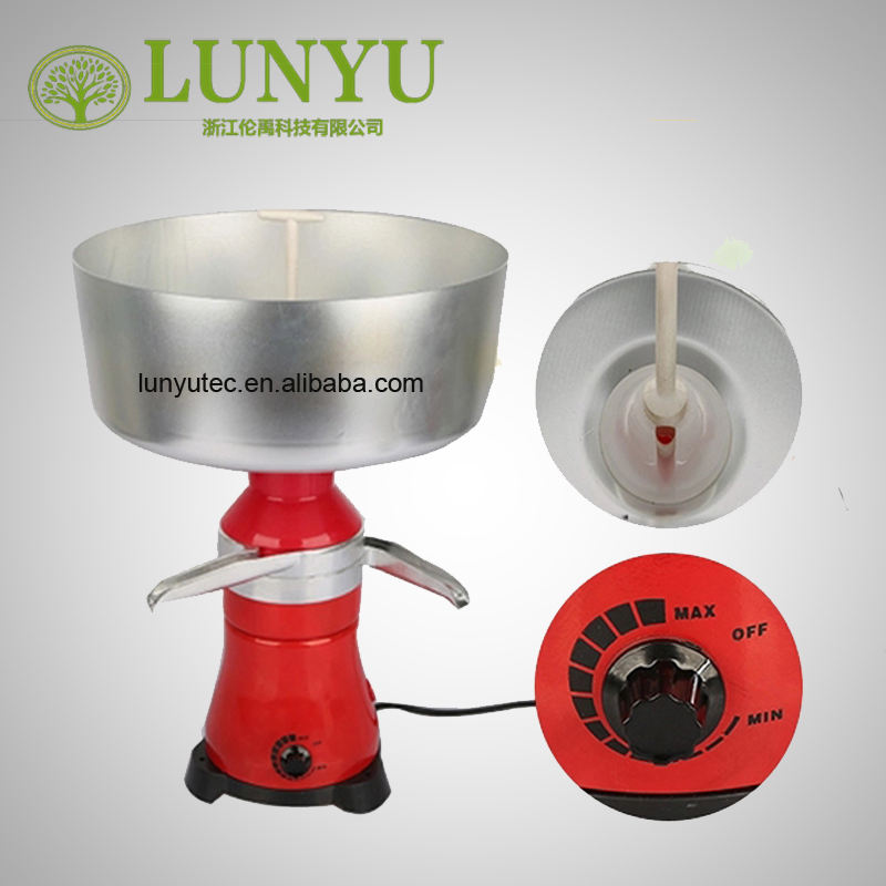 Milk Cream Electric Centrifugal Separator 80L/H-100L/H for dairy equipment