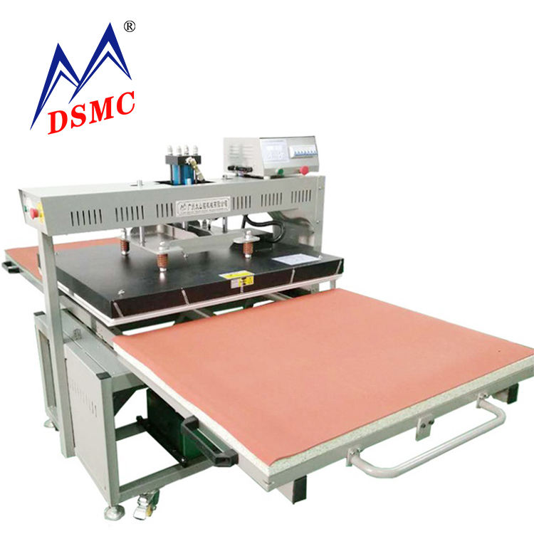 Large Hydraulic Heat press machine Sublimation printing on wood