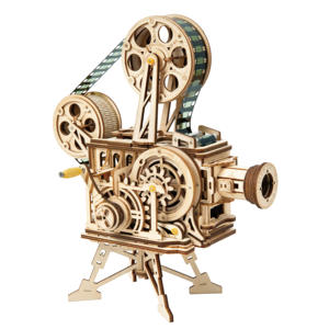 Robotime Diy 3D Wooden Puzzle Toys Adult Craft Kit Vitascope for Unique and Creative Gift Ideas