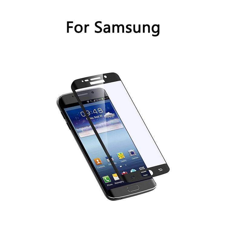Anti Scratch Impressão de Seda 100% Telefone Montagem em Tamanho <span class=keywords><strong>Real</strong></span> Protetor de Tela de Vidro Temperado