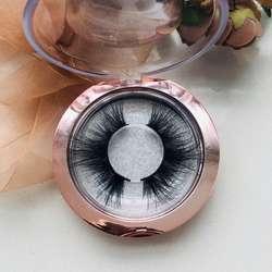 Wholesale Custom False Eyelash Private Label 5D real mink 25mm eyelashes
