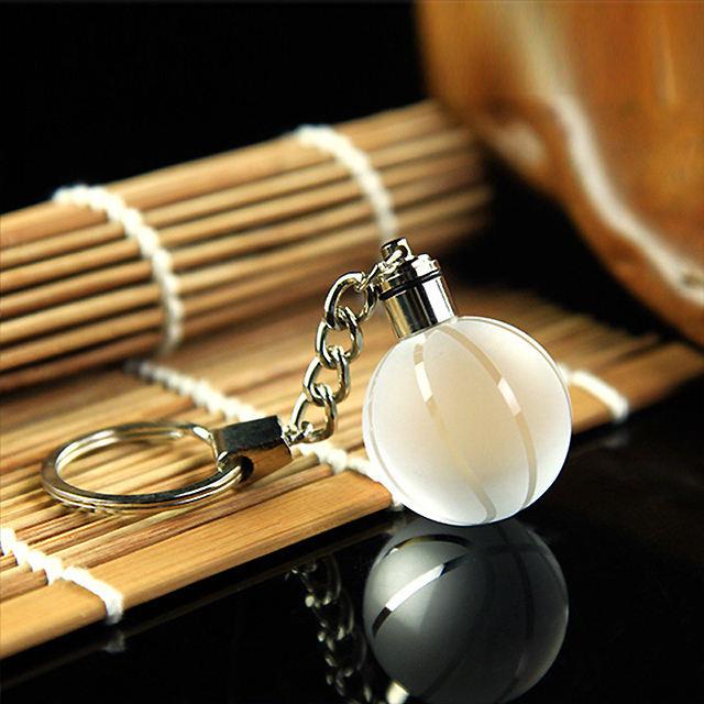 Оптовая продажа красивый пользовательский ЖК-брелок, Пользовательский Кристалл светодио дный логотип LED кристалл брелок