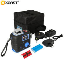 XEAST 12 lines 3D Self-Leveling 360 Horizontal Vertical Super Powerful Laser Level XE-68R Pro