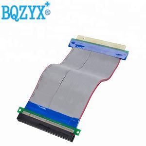 PCI-E 16X إلى 16X الناهض بطاقة محول موسع كابل PCI E 16X Pci اكسبرس مرنة الناهض 20 سنتيمتر 1X 4X 8X 16X