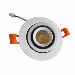 מפעל מחיר cob 7 w 10 w 12 w ניתן לעמעום 110 v שקוע led downlight
