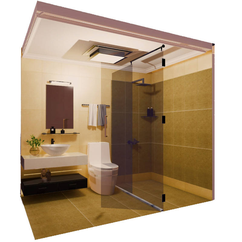 prefabricated bathroom All In One Bathroom Unit
