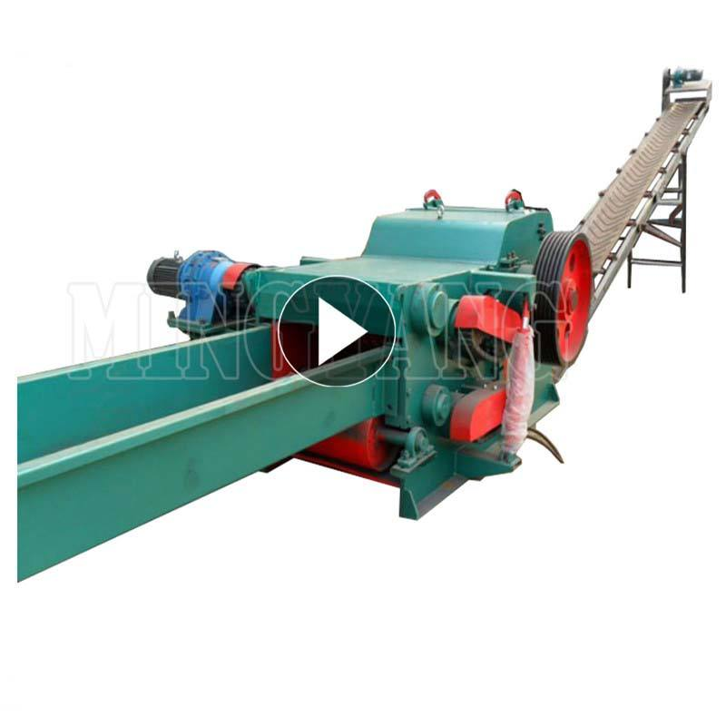 China Supplier Ce Approved Wood Drum Chipper Machine Shredder Made In China