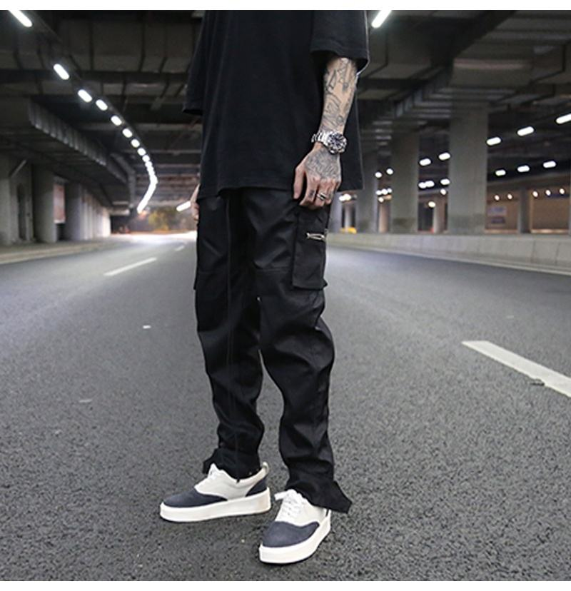 OEM trousers for men stock dropshipping hitpop streetwear chinos cargo trousers pants