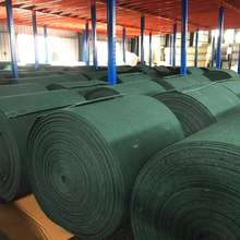 raw material green cleaning pad scouring pad in rolls