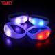 2019 Hot Wedding Favors Gifts LED Flashing Light Up Wristband Rfid Led Bracelet Flashlight For Decoration