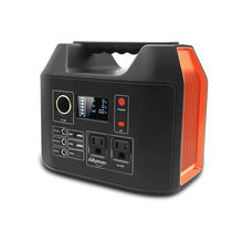 300w portable power station 90000Mah Portable  Power Supply With Led Light High good Quality AC solar generator