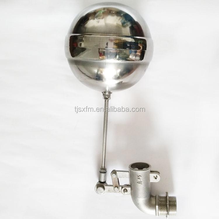 Латунный поплавок высота-управление клапан плагин Тип поплавок шаровой клапан для резервуара для воды цистерна башня воды