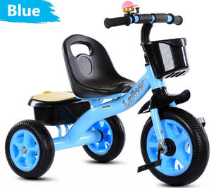 2019 factory wholesale kids double seat tricycle two seats baby tricycle kids ride on car with back seat