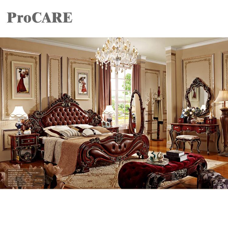 Approvisionnement d'usine classique de luxe style en bois <span class=keywords><strong>chambre</strong></span> ensembles