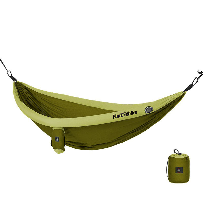 Naturehike outdoor Ultralight Inflatable Double Nest 2 man Camping Hammock