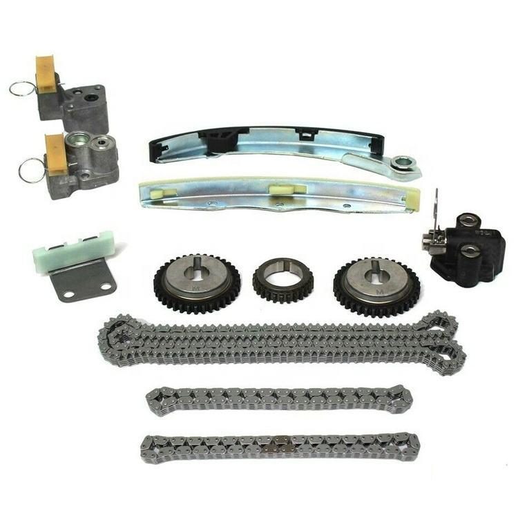 Fit 07-10 Nissan Altima Maxima Murano 3.5L DOHC Timing Chain Kit VQ35DE