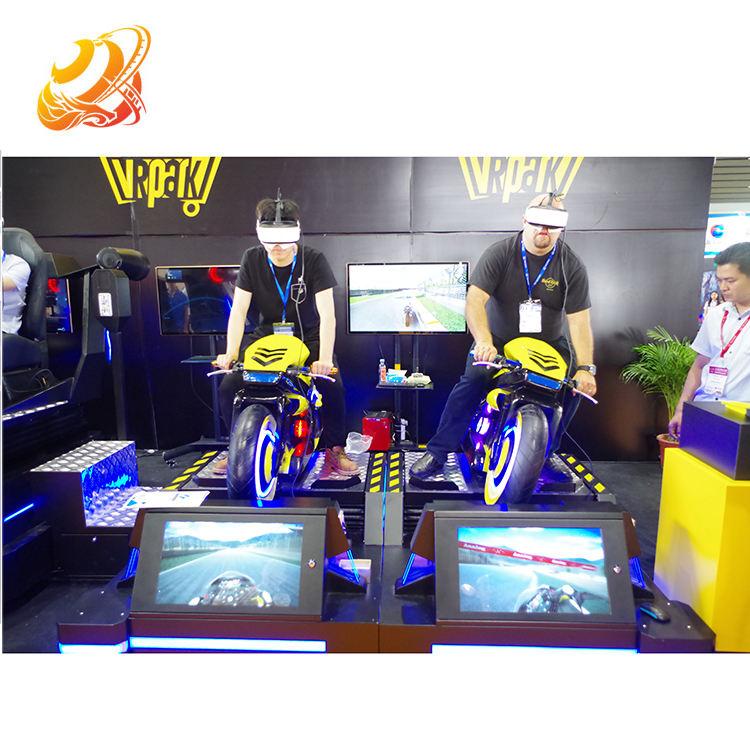 Монета работает виртуальной реальности 3d автомобиль гоночный автомат