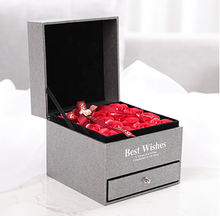 Artificial Romantic Gift Box Rose Bouquet Mother's Day Soap Flower