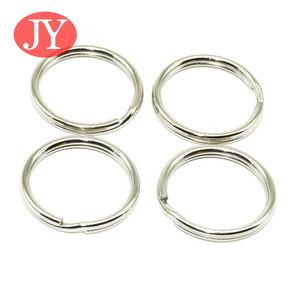 Round Edged Key Ring Split Ring 1 inch Keyring Keychain