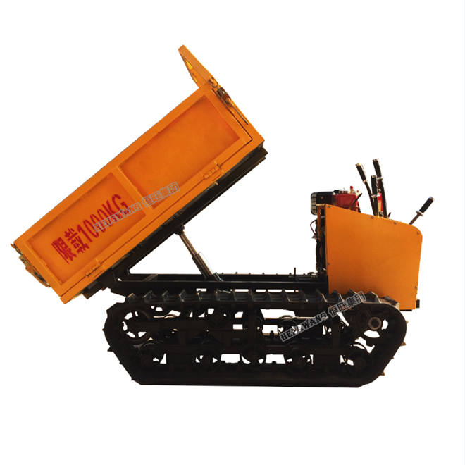 Construction machinery 2000kg mini crawler dumper machine truck for sale