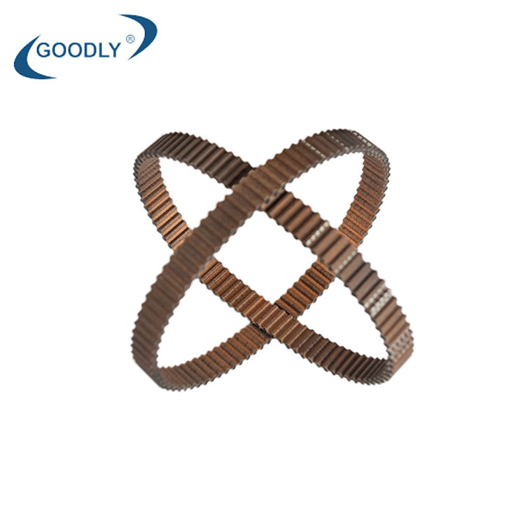 hot sale double sided 5M rubber toothed rubber timing belt