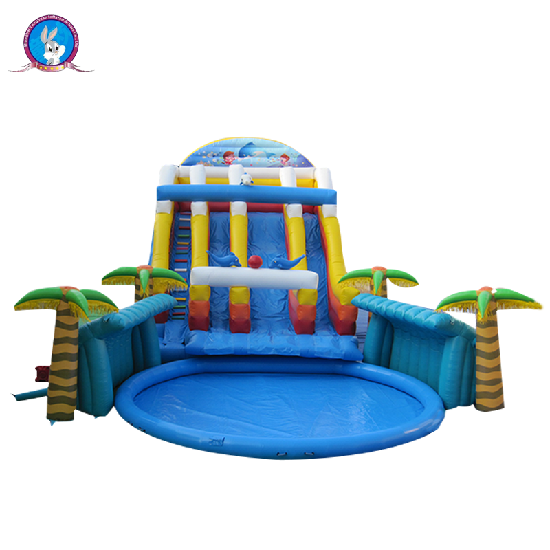 Finest price customized supplier inflatable summer water pool water park equipment