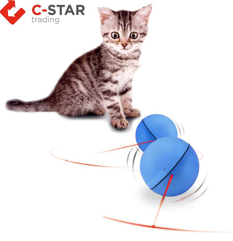 2019 interactivo eléctrico de rotación juguetes para mascotas gato luz <span class=keywords><strong>puntero</strong></span> láser