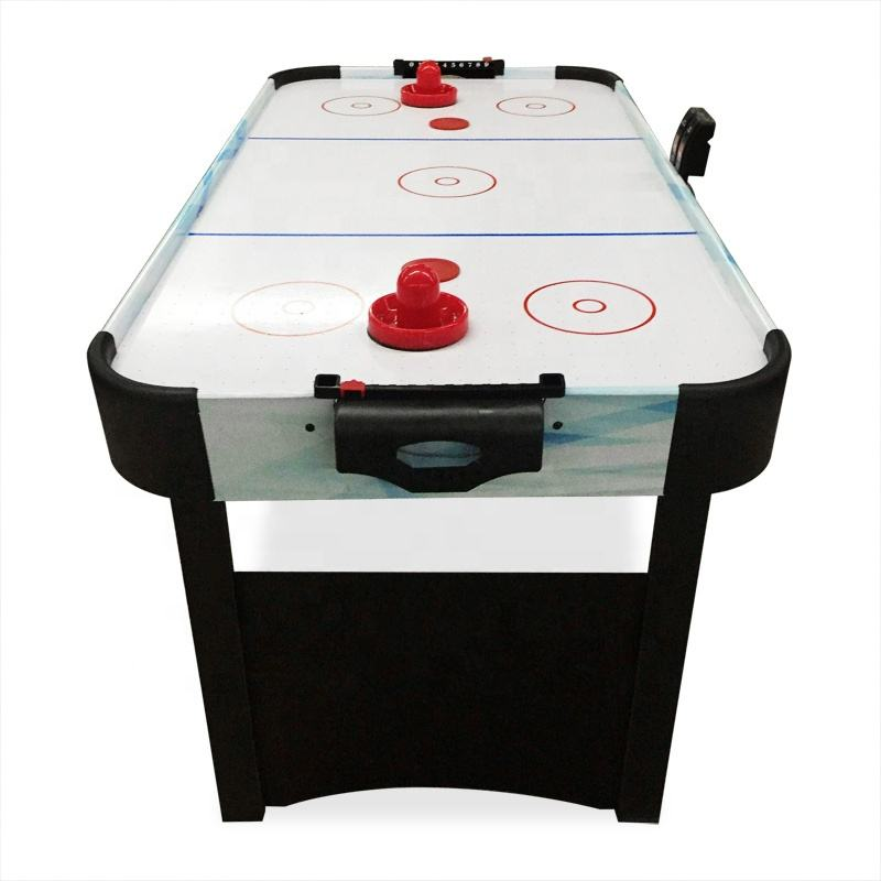 4 Feet Kids Electric Score Counter Air Hockey Table For For Small Club Sports