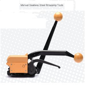 Manual Sealless Gesper Gratis Steel Band Strapping Tool