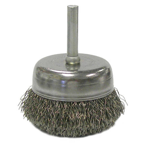 rotary metal polishing wire cup brush of 14 nut in high quality