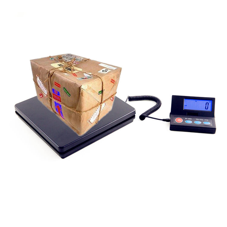 sf890 portable electronic scale lcd display Multi-capacity electronic digital postal weighing mail scale 50kg /110lb