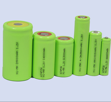 nimh AA 400mAh rechargeable dry batteries 1.2V