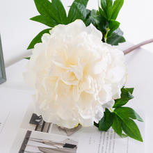 Wholesale Artificial real touch silk peony flower
