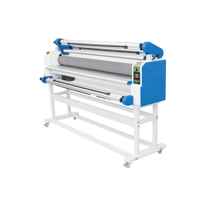60 cm inch 130cm flatbed cold laminator 1600 mm large size manual and electrical vinyl hot cold roll laminating machine