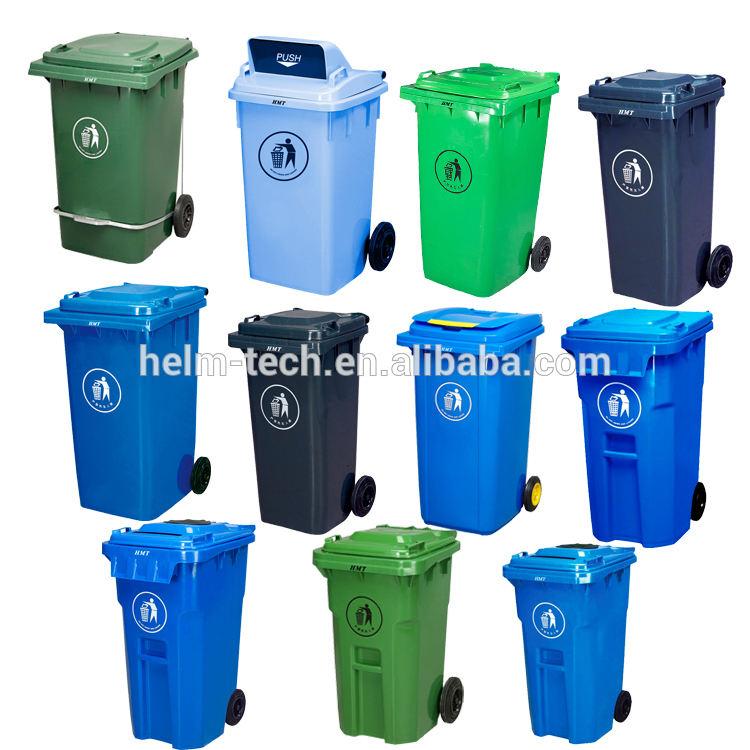 80/360 l rubber recycle garbag rubbish bin supplier in penang malaysia dustbin