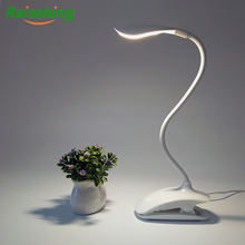 Eye protection clip lamp flexible led desk lamp with clip table lamp with battery operated