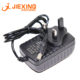 12v1a power adapter DC5.5*2.1mm router/mobile hard disk/monitoring/ TV Box lamp universal power supply 12V 1000mA UK plug 3pin