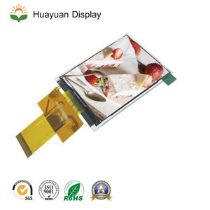 Modul Video Fleksibel Transparan Lcd Display 3.2 Inch TFT LCD dengan LED Backlight