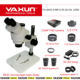 21MP Full HD 1080P 60FPS HDMI Industry Digital Camera Mobile phone repair 3.5X-90X YAXUN AK33 Stereoscopic Microscope set