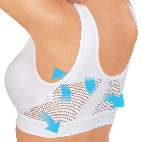 Perfect Air Cooling Mesh Seamless Sports Bra