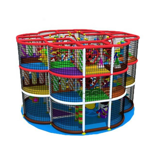 OJARSTAR kid entertainment equipment amusement park children commercial indoor playground for sale