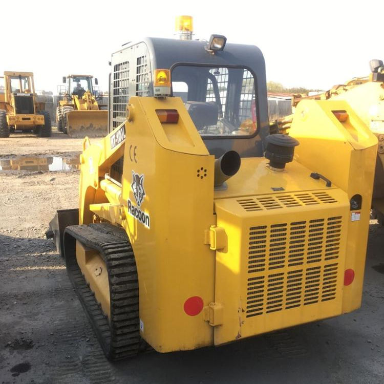 Used Racoon Skid Steer Loader HT 100L / Mini Loader Racoon
