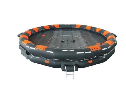 65 persons open-reversible inflatable liferaft