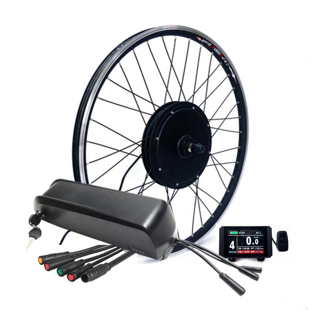 ebike conversion kit 48v 1000w with controller built in lithium battery