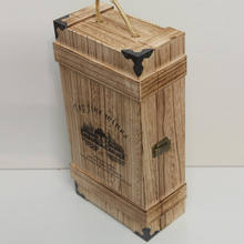 High-quality high-grade wine wooden box packaging box can be customized